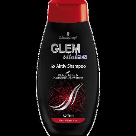 Schwarzkopf GLEM vital Men 3x Aktiv Shampoo