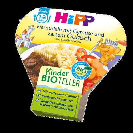 HiPP Bio-Teller Eiernudeln mit Gemüse