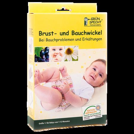 Grünspecht Brust- und Bauchwickel