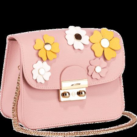 LOOK BY BIPA Crossbody Bag Flower rosa