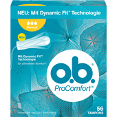 Bild: o.b. ProComfort Tampons normal