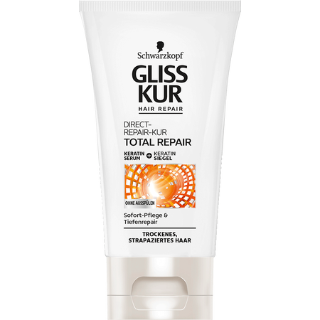 Bild: Schwarzkopf GLISS KUR Hair Repair Total Repair Direct-Repair-Kur  Schwarzkopf GLISS KUR Hair Repair Total Repair Direct-Repair-Kur