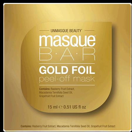 masque BAR Gold Foil Peel-off Maske Pod