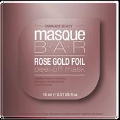 Bild: masque BAR Rose Gold Foil Peel-off Maske Pod