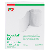 Bild: LOHMANN & RAUSCHER Rosidal® SC Kompressionsbinde weich 10 cm x 2.5 m