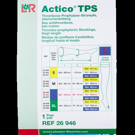 LOHMANN & RAUSCHER Actico® TPS Thrombose-Prophylaxe-Strümpfe oberschenkellang Gr. L