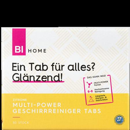 BI HOME Multi-Power Geschirrreiniger Tabs