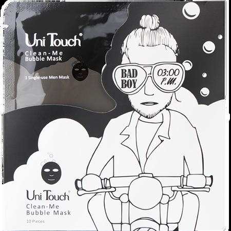 Uni Touch Bad Boy Clean-Me Bubble Maske