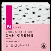 Bild: BI CARE Young Balance 24h Creme
