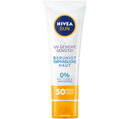 Bild: NIVEA Sun UV Gesicht Sensitive LSF 50 Sonnencreme