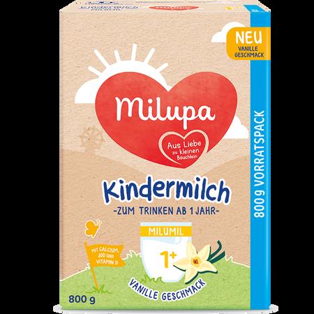 Milupa Milumil Kindermilch 1+ Vanille Geschmack