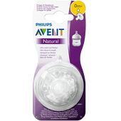 Bild: PHILIPS AVENT Sauger Naturnah, 0 Monate+Sauger Naturnah, 0 Monate+