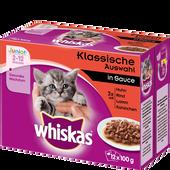 Bild: Whiskas Junior Klassische Auswahl in Sauce