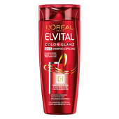 Bild: L'ORÉAL PARIS ELVITAL Color-Glanz 2in1 Shampoo & Spülung