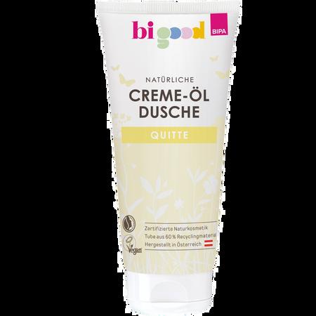 bi good Natürliche Creme-Öl Dusche Quitte