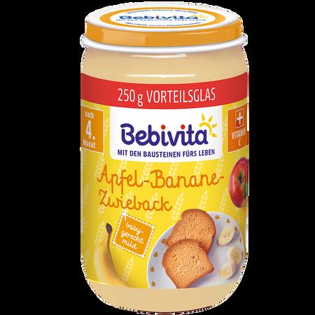 Bebivita Frucht&Getreide Apfel-Banane-Zwieback