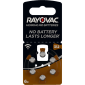 Bild: RAYOVAC Hörgerätebatterien Typ 312