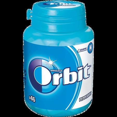 WRIGLEY'S Orbit Peppermint Bottle