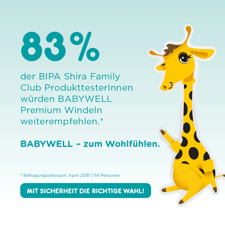 BABYWELL Premium-Windeln Junior Gr. 5