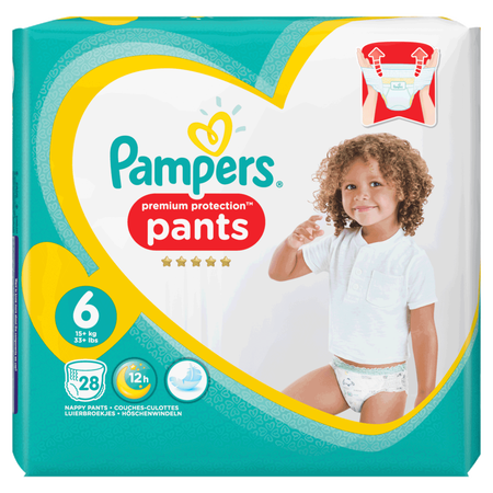 Pampers Premium Protection Pants Gr. 6 (15+ kg) Value Pack