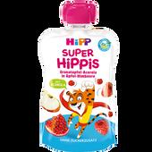 Bild: HiPP Super Hippis Tiger Granatapfel-Acerola in Apfel-Himbeere