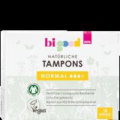 Bild: bi good Natürliche Tampons normal