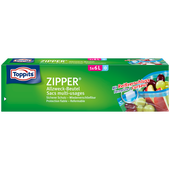 Bild: Toppits ZIPPER Allzweck-Beutel
