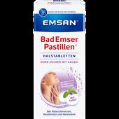 Bild: Emsan Bad Emser Pastillen Halstabletten ohne Zucker mit Salbei