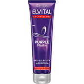 Bild: L'ORÉAL PARIS ELVITAL Color Glanz Purple Maske Anti-Gelbstich