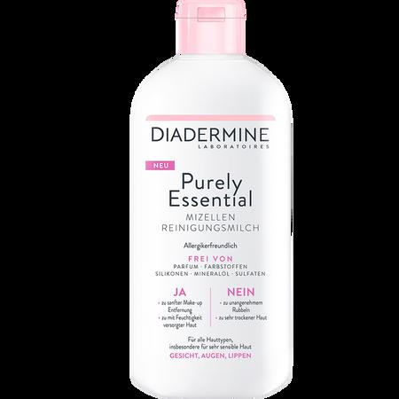 DIADERMINE Purely Essential Mizellen Reinigungsmilch