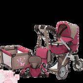 Bild: myToys Großes Puppenwagen-Set Deluxe 10-in-1