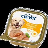 Bild: clever Saftige Pastete mit Huhn, Karotte + Nudeln Hundefutter