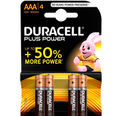 Bild: DURACELL Plus Power Alkaline AAA Batterien