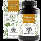 Bild: NATURE LOVE Curcuma Kompakt Kapseln