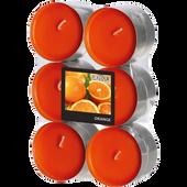 Bild: Gala Teelichter Orange