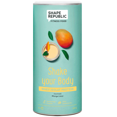 SHAPE REPUBLIC Whey Protein Mango Lassi