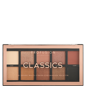 Bild: profusion cosmetics Classics 10 Shade Multi-Finish Eyeshadow Palette