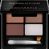 Bild: Revolution Focus & Fix Brow Kit medium dark