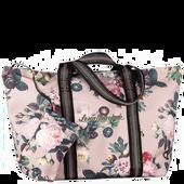 Bild: Lena Hoschek Tasche mit Blumenmuster Light Taupe