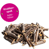 Bild: bunny Lust Auf Natur Knabber-Spass Apfelhölzer