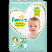 Bild: Pampers Premium Protection Gr. 4 (9-14kg) Value Pack