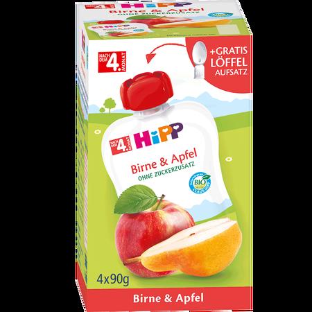 HiPP Früchtebeutel Birne & Apfel
