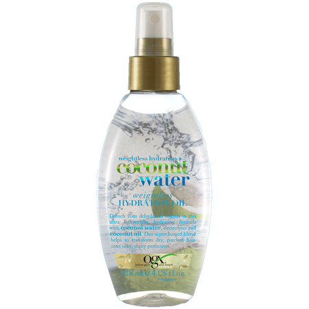 OGX coconut water weightless hydration oil