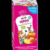 Bild: HiPP Hippis Waldbeeren in Apfel-Pfirsich