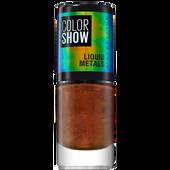 Bild: MAYBELLINE Colorshow Liquid Metals Nagellack mars
