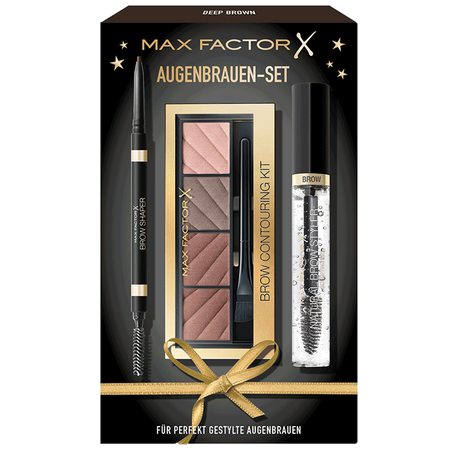 MAX FACTOR Augenbrauen Set deep brown