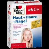 Bild: DOPPELHERZ Haut + Haare + Nägel Tabletten