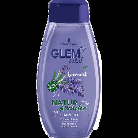 Schwarzkopf GLEM vital Naturwunder Shampoo Lavendel