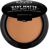 Bild: NYX Professional Make-up Stay Matte But Not Flat Powder FoundationStay Matte But Not Flat Powder Foundation deep olive