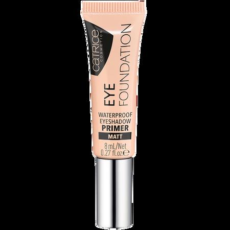 Catrice Eye Foundation waterproof eyeshadow primer matt